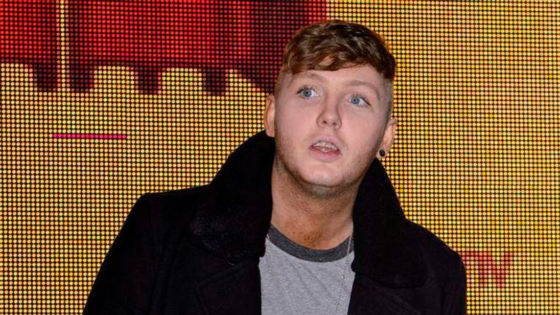 James Arthur at an album signing