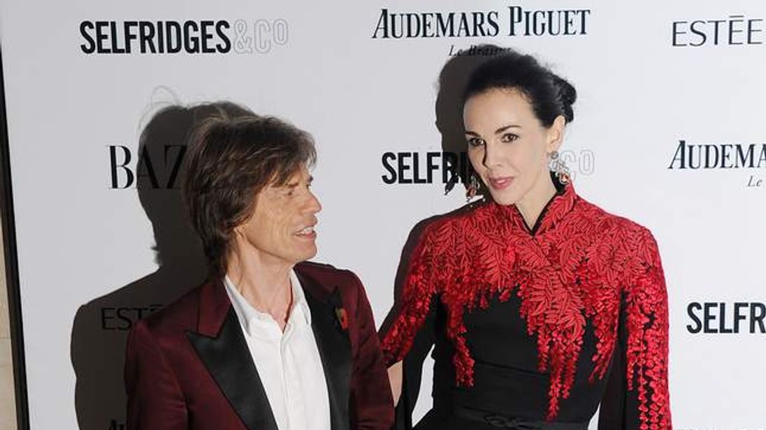 Fashion designer L'Wren Scott was found dead at her New York apartment.