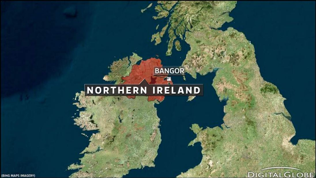 Map of Bangor, Northern Ireland