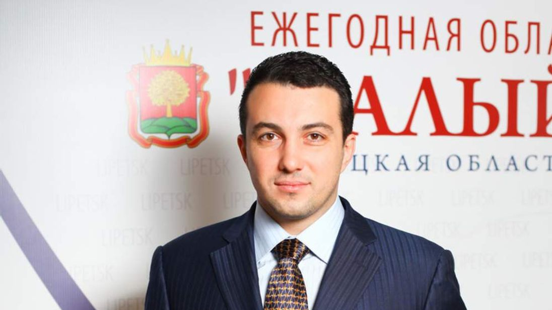 Mikhail Pakhomov, 37, a city councillor in Lipetsk, central Russia