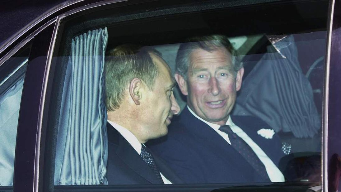 Charles 'compared Putin to Hitler'