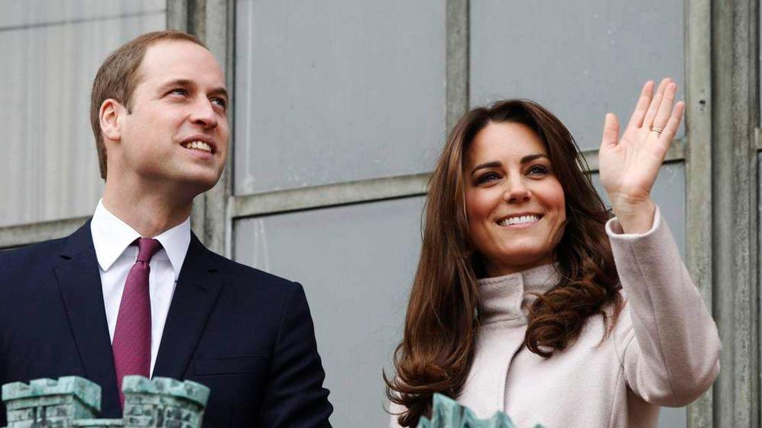 Britain's Prince William and Catherine, Duchess of Cambridge visit Cambridge