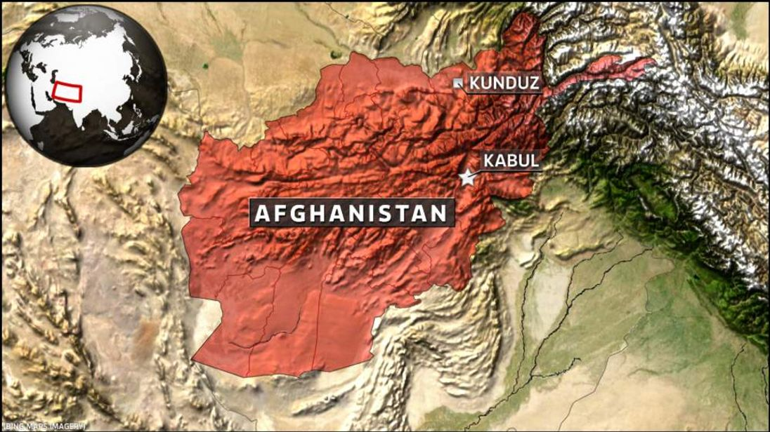 Map of Kunduz Afghanistan