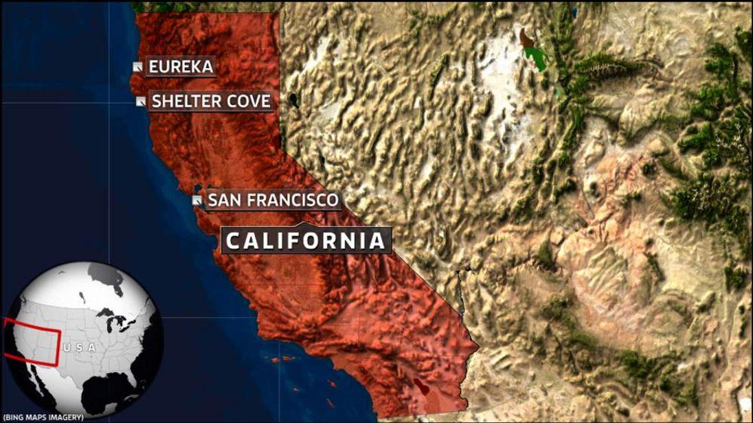 Shelter Cove, California.