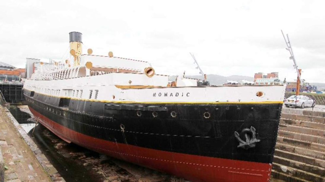 'Mini-Titanic' unveiled at Belfast museum