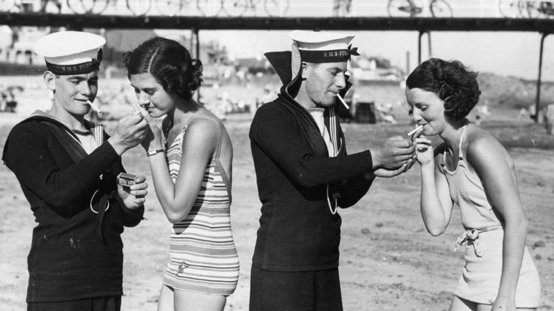 Smoking Sailors