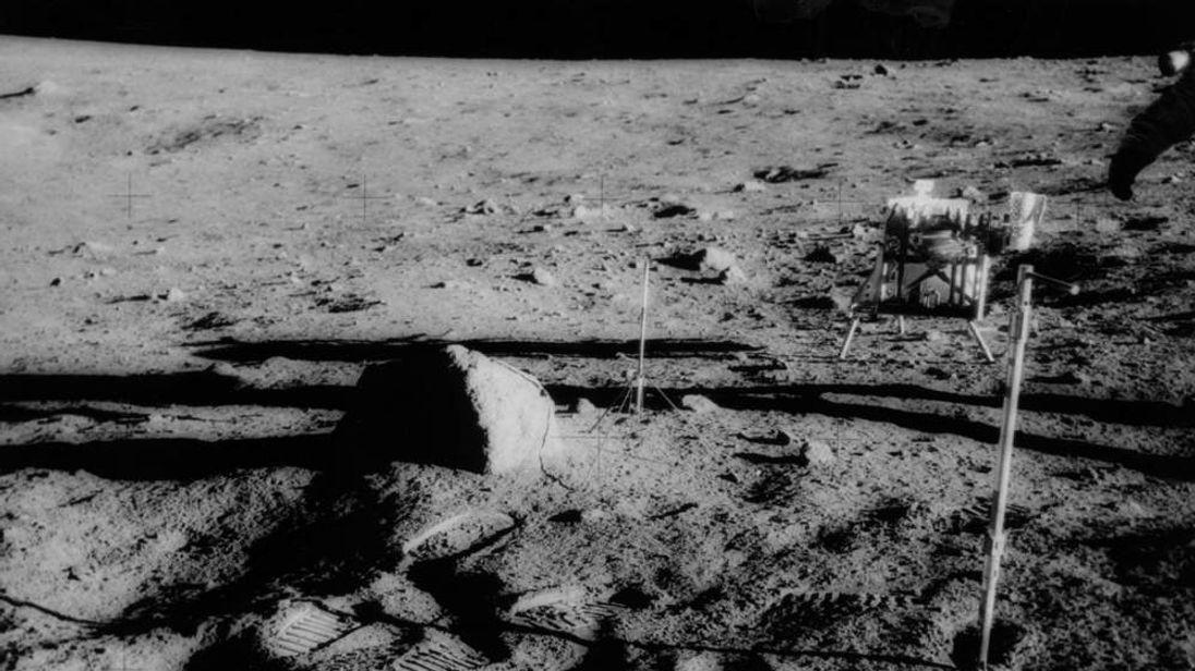 Surface Moon Landing 1969 Apollo 12