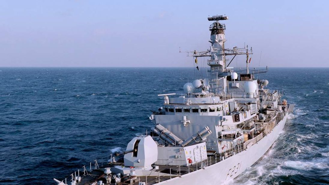 Royal Navy Type 23 Frigate HMS Argyll. Pic: MOD