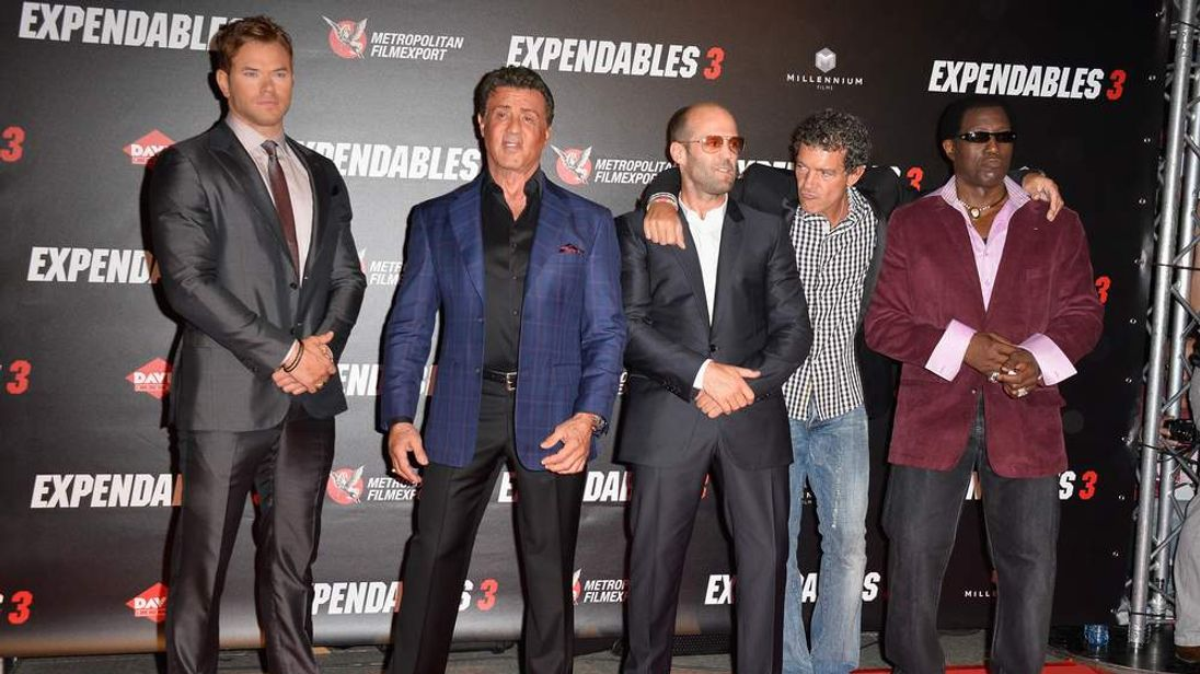 """The Expendables 3"" Paris Photocall At Cinema UGC Normandie"