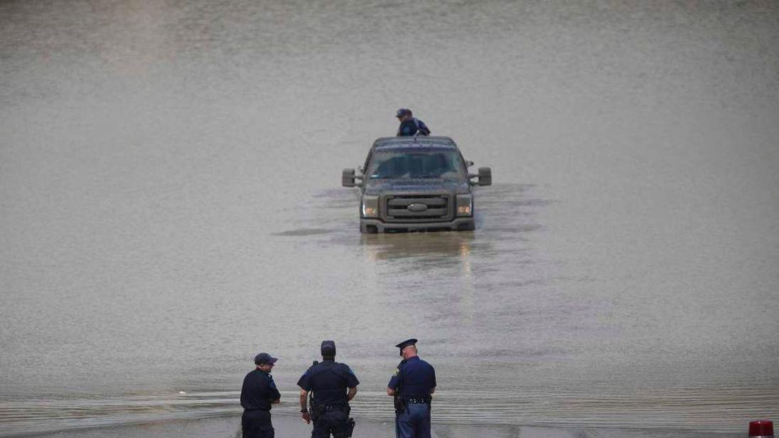Major Floods Swamp Metro Detroit Area