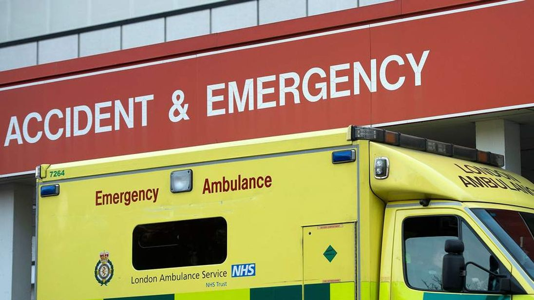 Patients Being Forced To Wait In Ambulances Outside A&E Departments