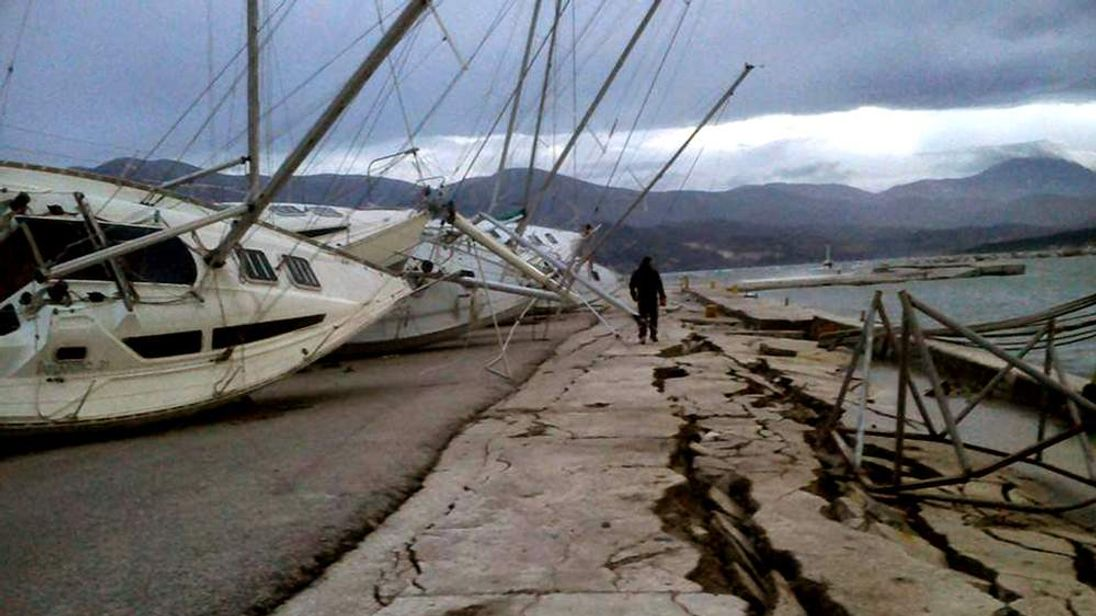Earthquake in Greece