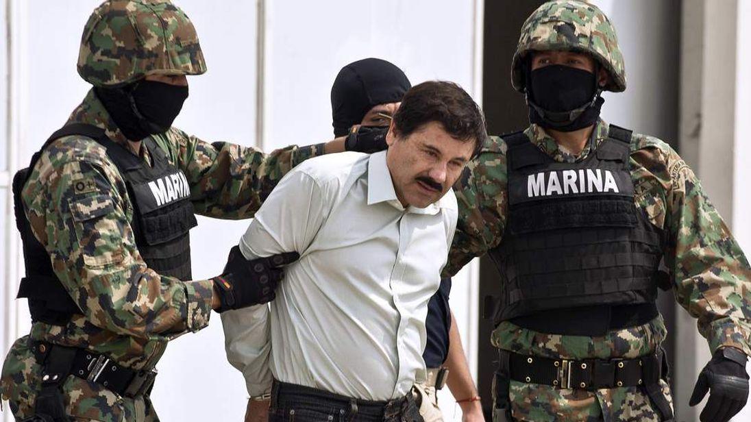 Joaquin Guzman captured in Mexico