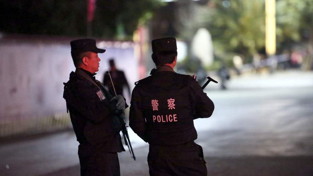 Chinese terror attack.
