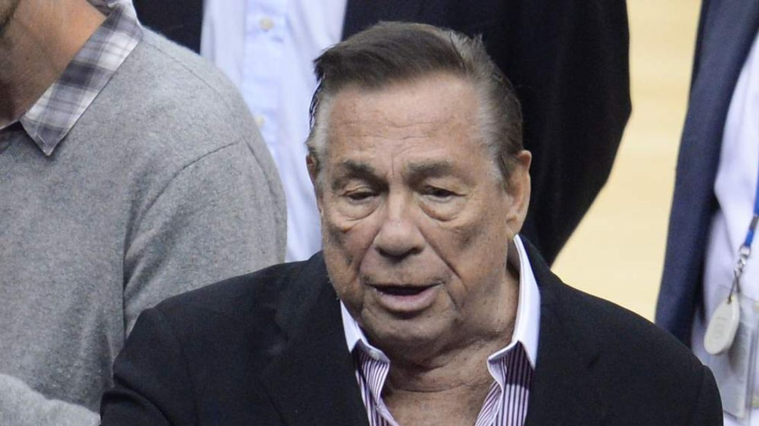 NBA Los Angeles Clippers owner Donald Sterling