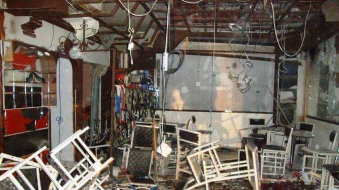 The explosions hit restaurants in northeastern Syria