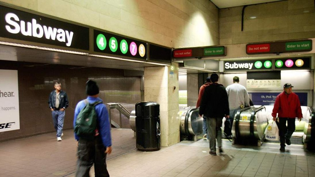 New York subway station generic