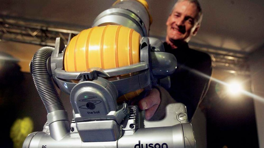 Inventor James Dyson