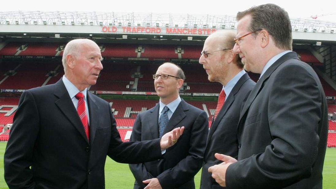 Glazer brothers visit Old Trafford