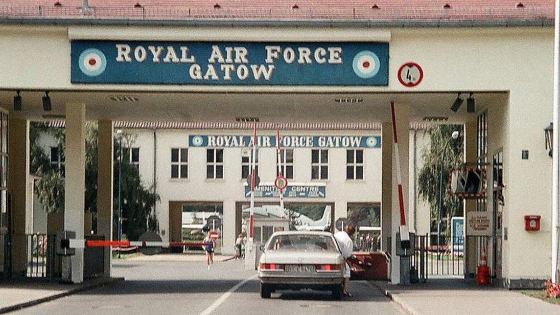 The RAF's former Gatow base
