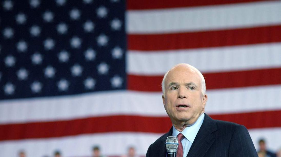 McCain Holds Townhall Meeting In York, Pennsylvania