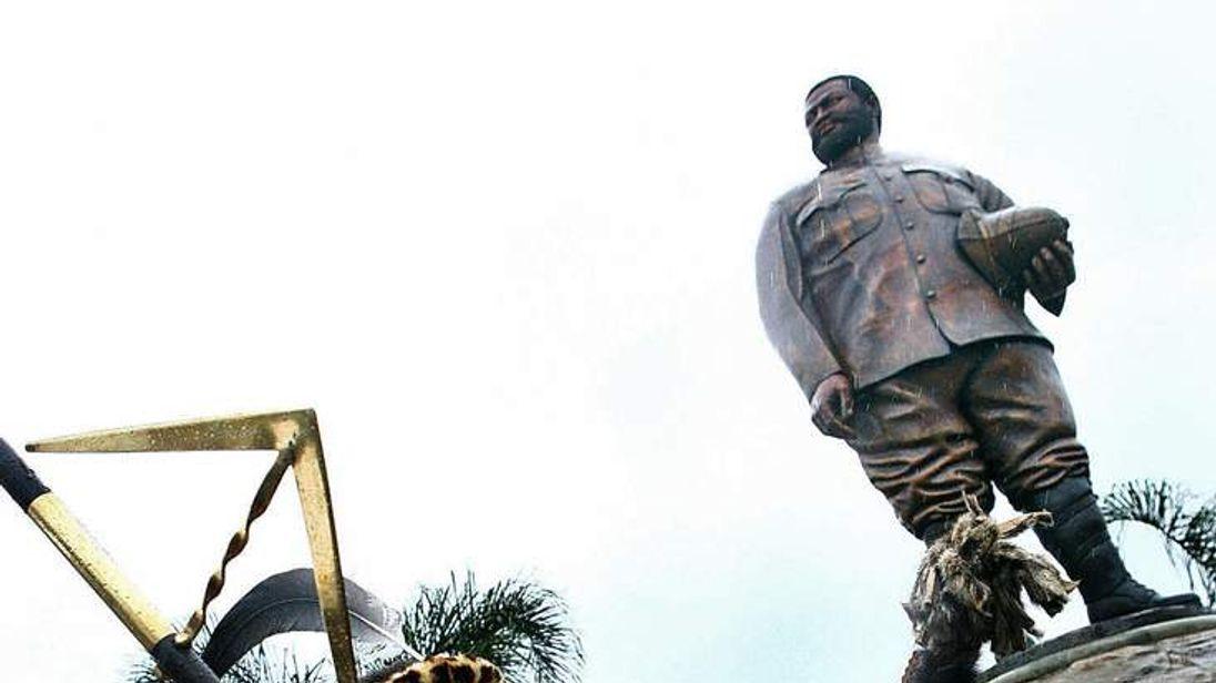 Zulu King Goodwill Zwelithini ka Bhekuzu