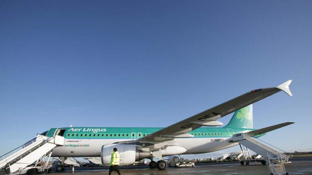 An Aer Lingus aircraft