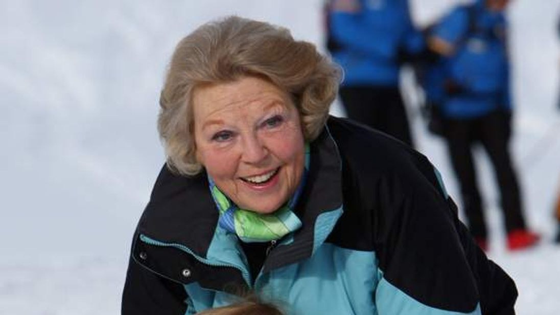 Queen Beatrix with