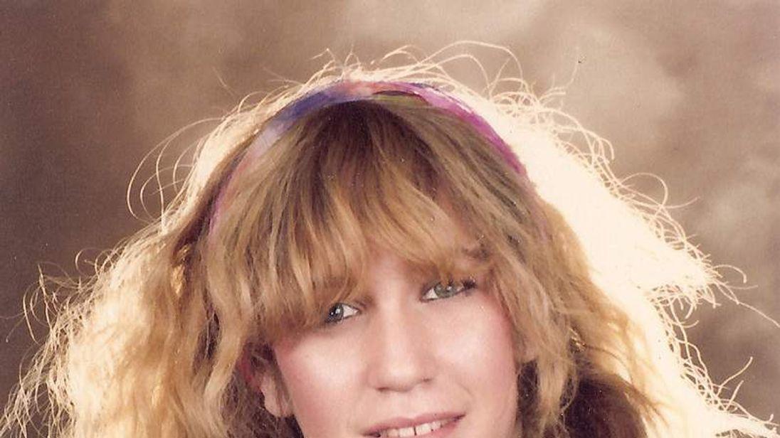Eva Rausing as a teenager