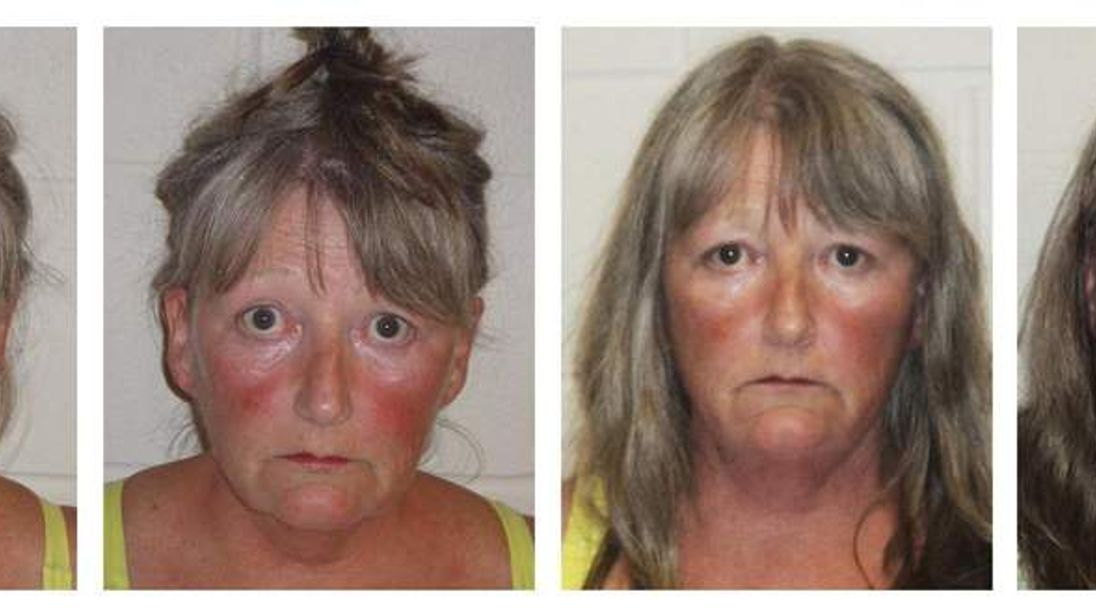 Booking photos of Joyce Coffey
