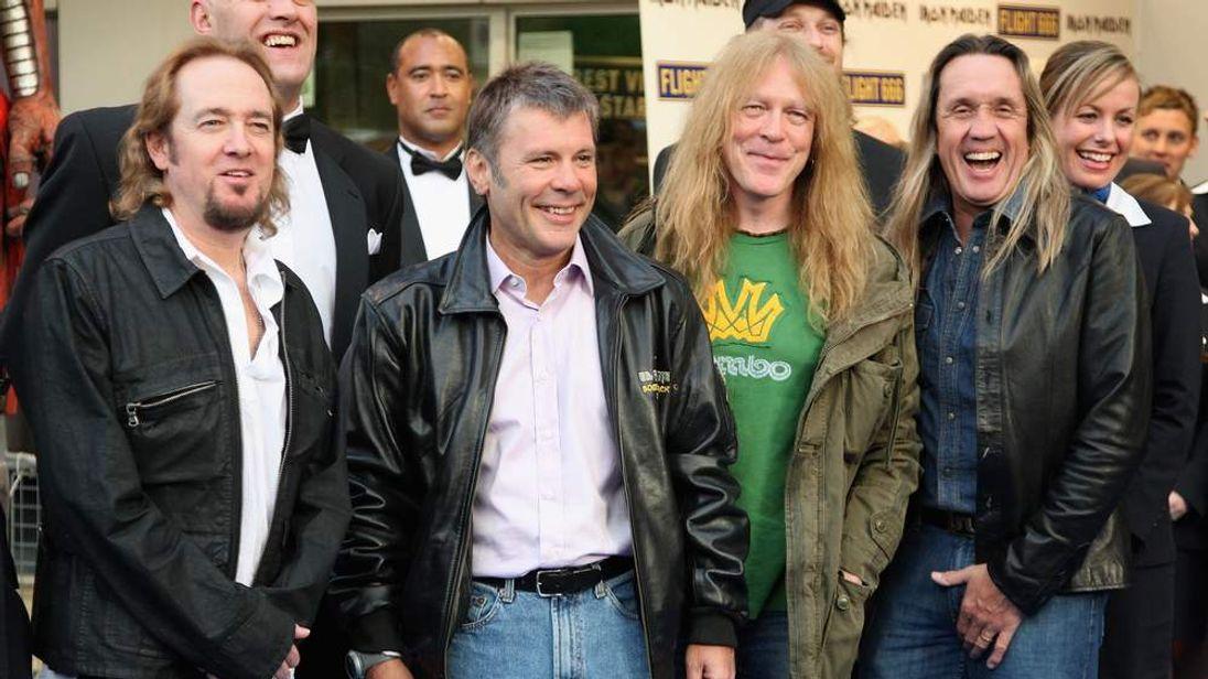 UK Film Premiere: Iron Maiden: Flight 666 - Outside Arrivals