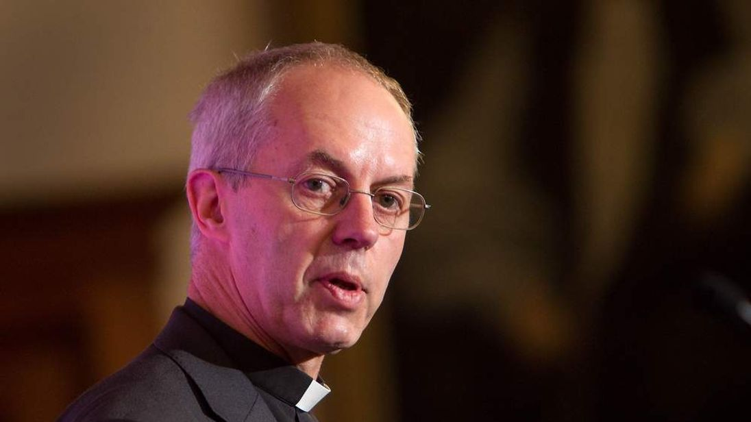 The new Archbishop of Canterbury the Right Reverend Justin Welby, the current Bishop of Durham, who has yet to officially take up his new post, addresses the media at Lambeth Palace in London. PRESS ASSOCIATION Photo. Picture date: Friday November 9, 2012.