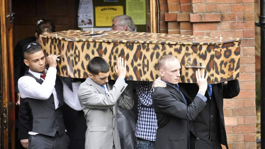 Funeral of Karina Menzies