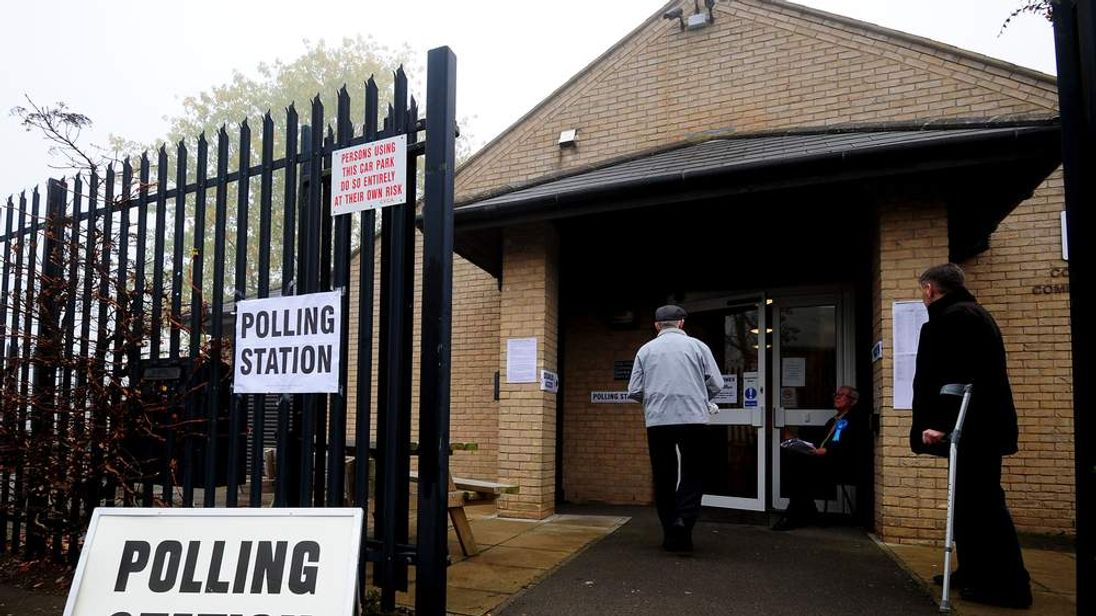 Corby Polling Station
