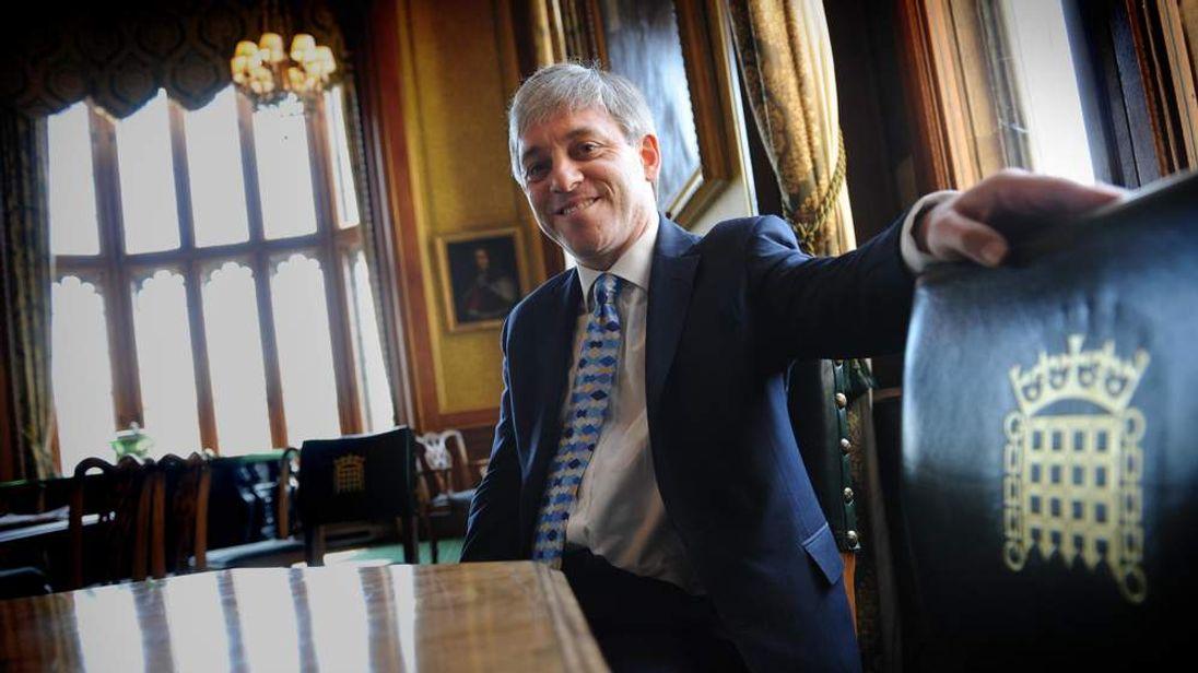 John Bercow Commons Speaker