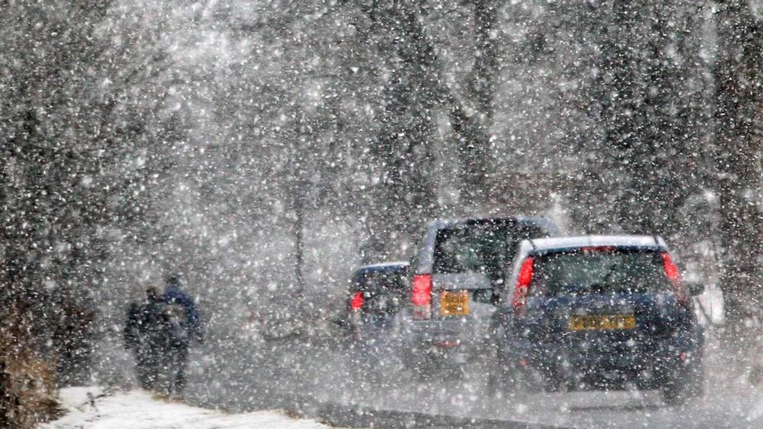 Snow and ice are set to grip Britain.