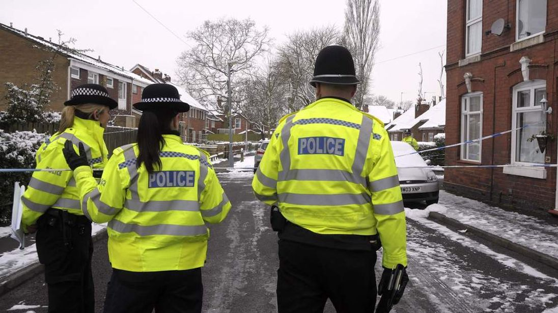 Pensioner and daughter found dead.