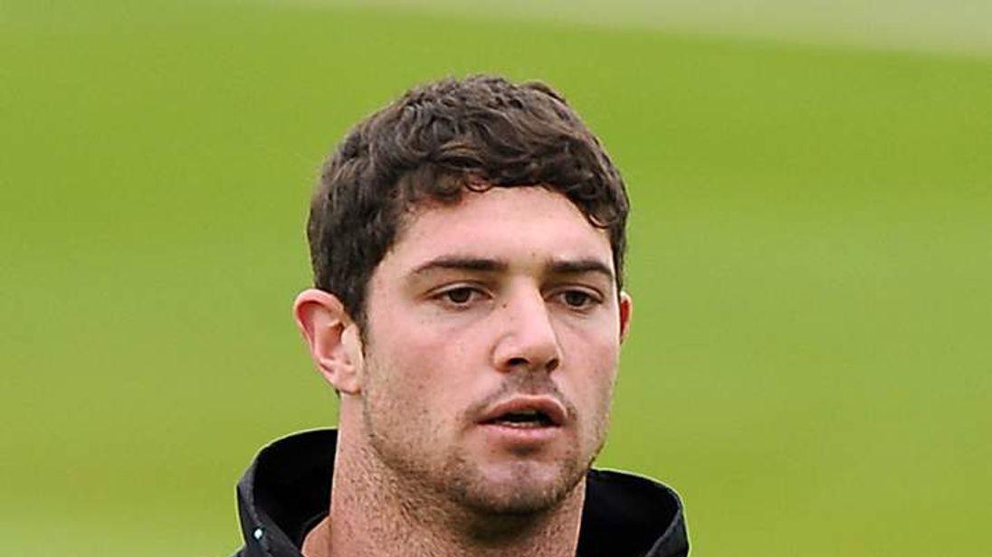 Surrey cricketer Tom Maynard