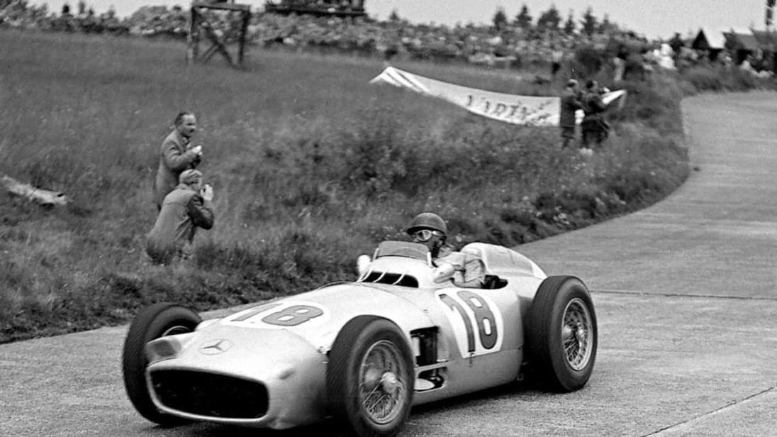 Juan Manuel Fangio 1954 Mercedes