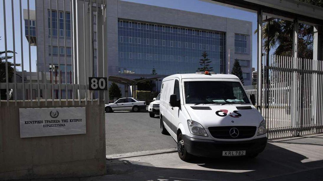 G4S van in Cyprus