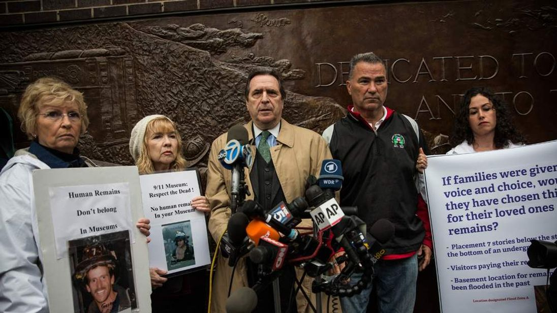 Families Of 9/11 Victims Ask City Not To Move The Unidentified Remains
