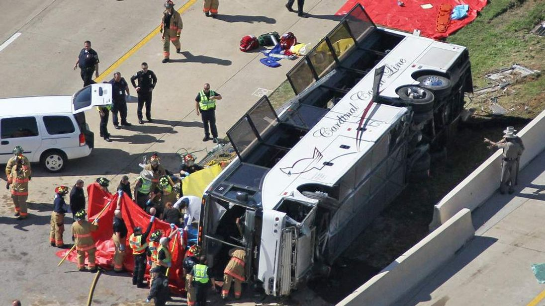 Two Killed In Texas Bus Crash