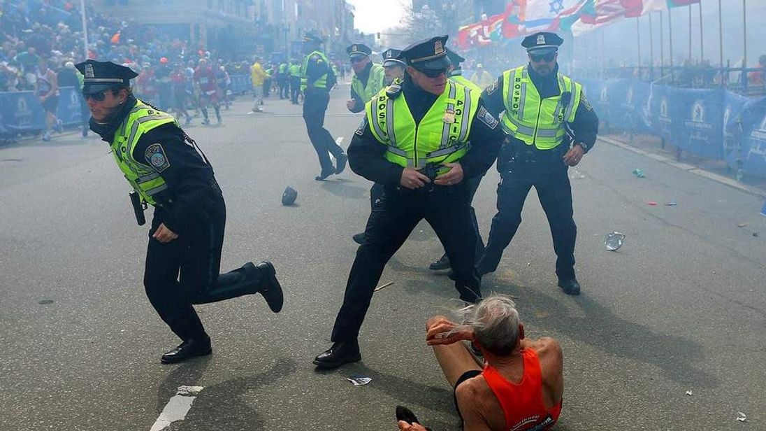 Boston Marathon Explosion Aftermath