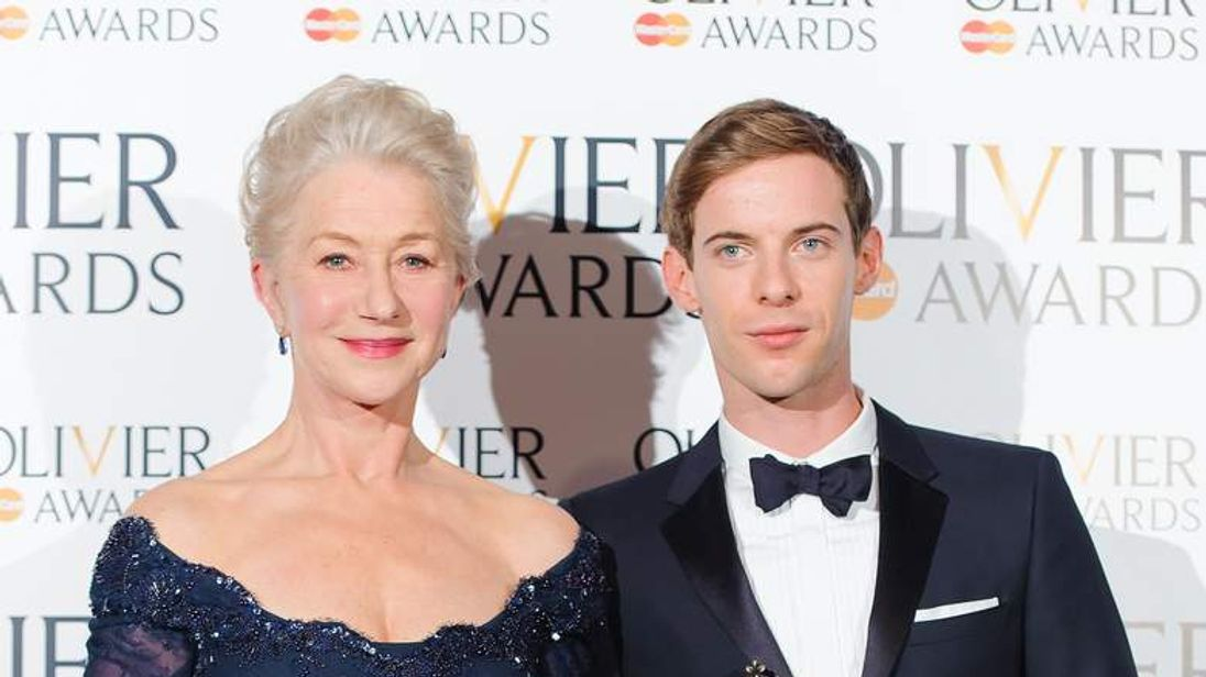 Helen Mirren and Luke Treadaway.