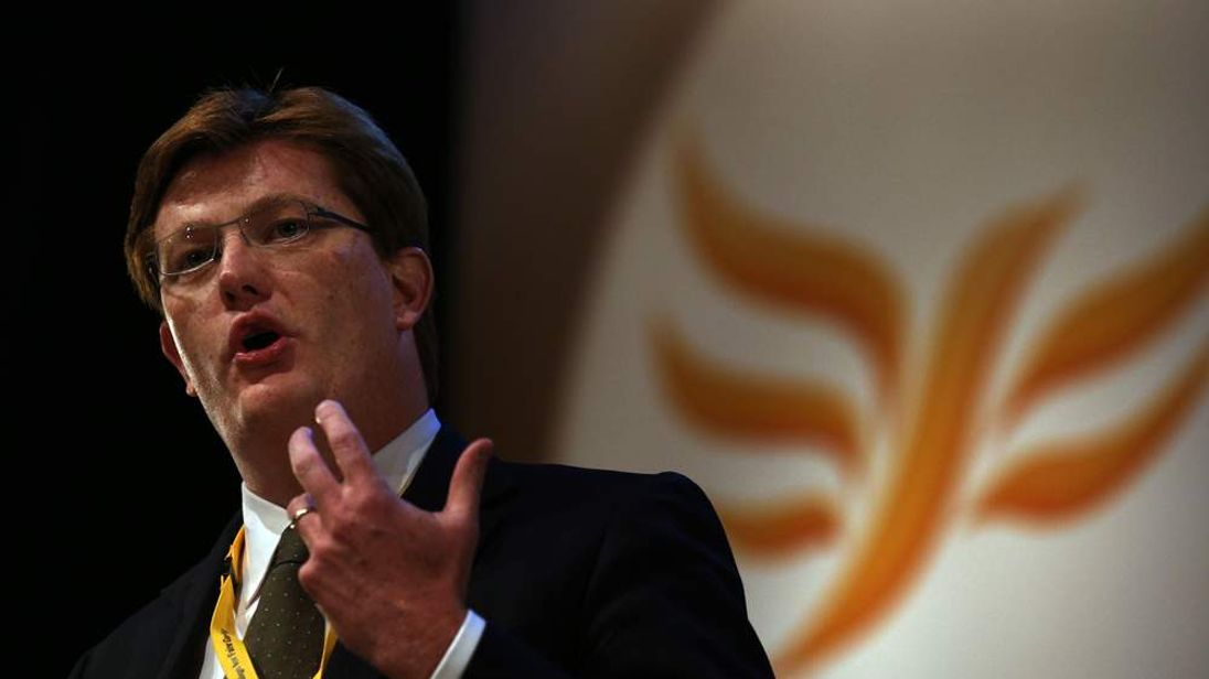 Danny Alexander at the Lib Dem conference