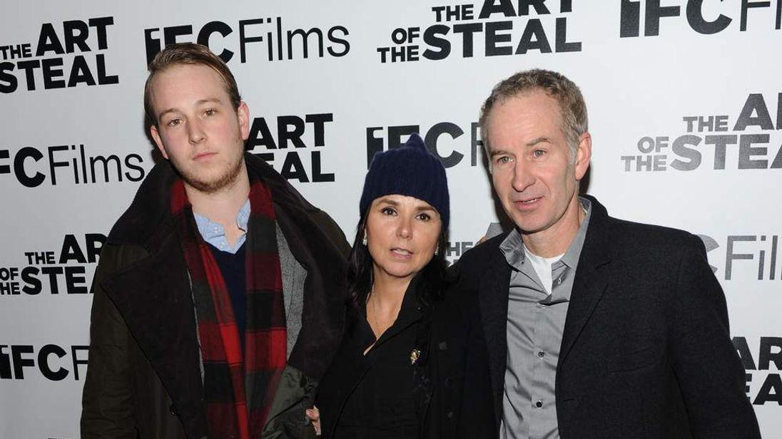 Kevin McEnroe, Patti Smyth and John McEnroe