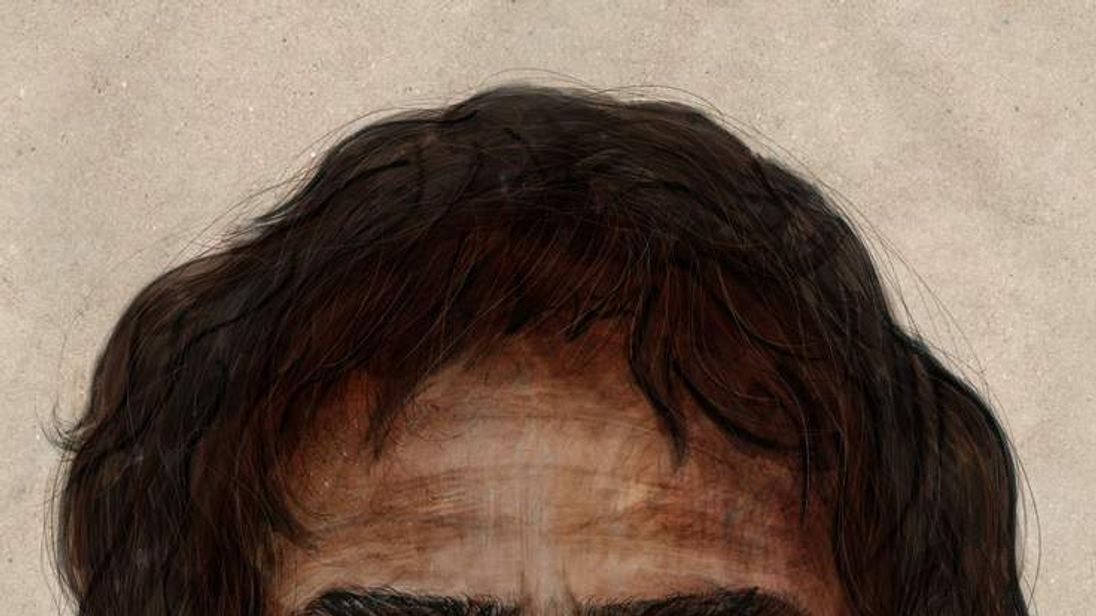 DNA reveals cave man appearance