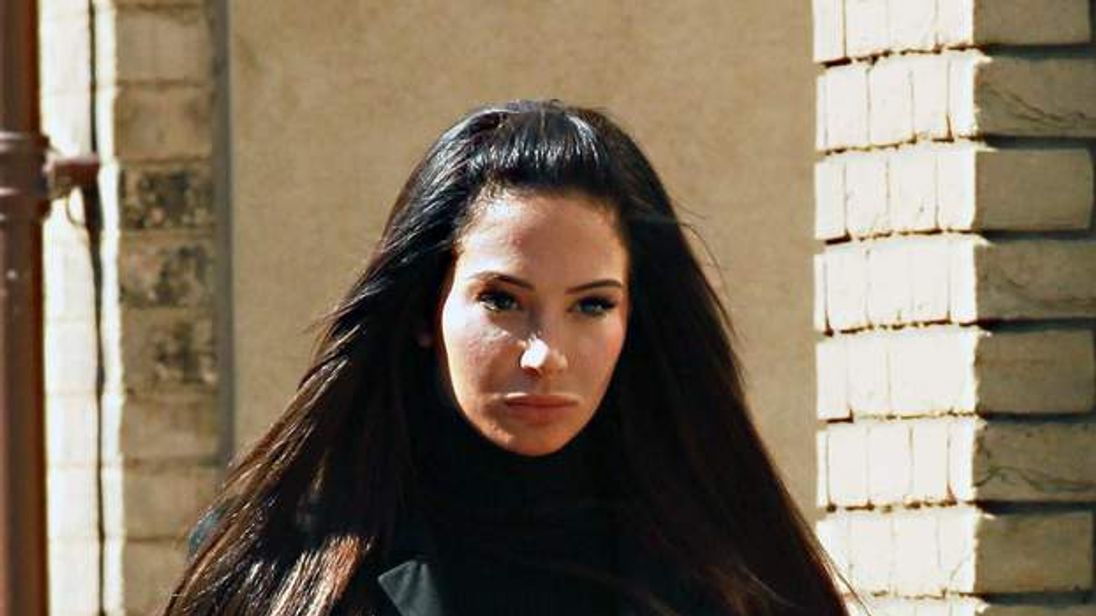 Tulisa Contostavlos at court