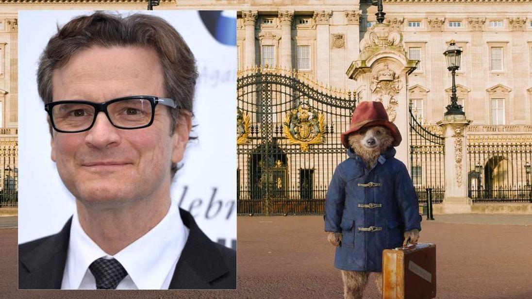 Colin Firth and Paddington