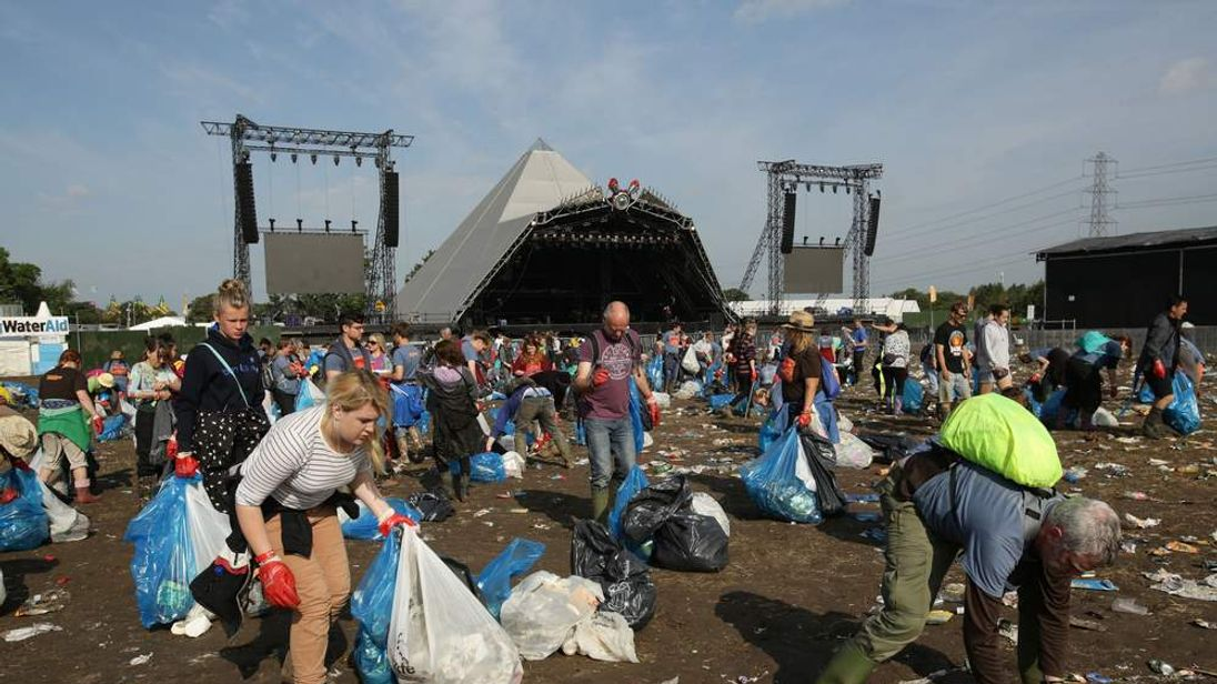 Glastonbury Festival 2014 - Aftermath